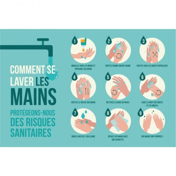 panneau forex comment se laver les mains covid recto
