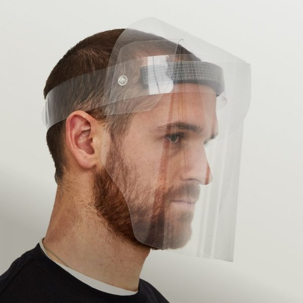 visière masque de protection covid