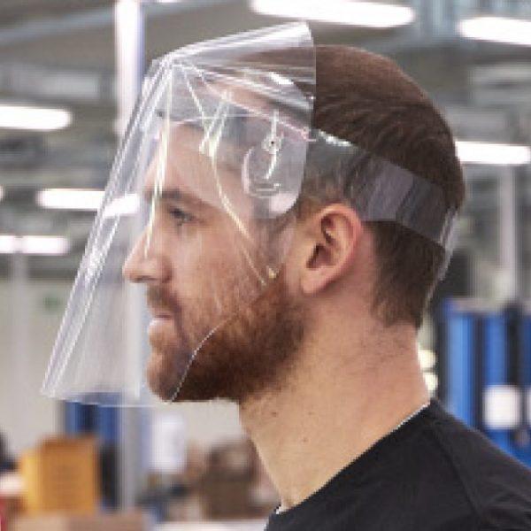 visière masque de protection intégrale covid